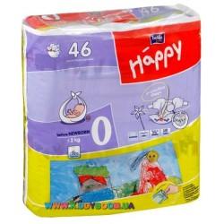 Подгузники Bella Happy Baby 0 before Newborn (≤2 кг) 46 шт