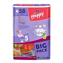 Подгузники Bella Happy Baby Junior 5 (12-25 кг) 58 шт.