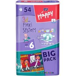 Подгузники Bella Happy Baby Junior 6 Extra (16+ кг) 54 шт
