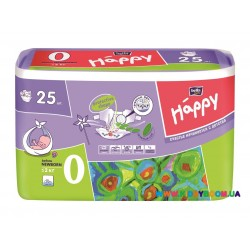 Подгузники Before Newborn Bella Happy 0 размер до 2 кг