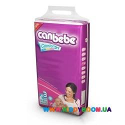 Подгузники CANBEBE Comfort Dry 3 Midi (4-9 кг) 62 шт