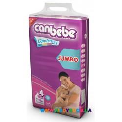 Подгузники CANBEBE Comfort Dry 4 Maxi (7-18 кг) 50 шт