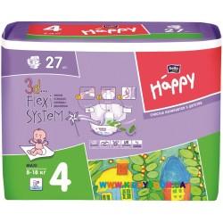 Подгузники Bella Happy Baby Maxi 4 (8-18кг) 27 шт.