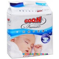 Подгузники GOO.N ПРЕМИУМ 22 шт. Новорожденные до 5 кг