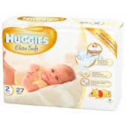 Подгузники Huggies Newborn EliteSoft 2 (3-6 кг) 27 шт.