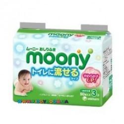 Детские влажные салфетки Moony Tissue 3 х 50 шт.