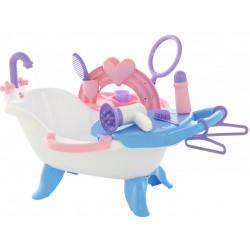 Игровой набор для купания кукол №2 с аксессуарами Полесье 47250