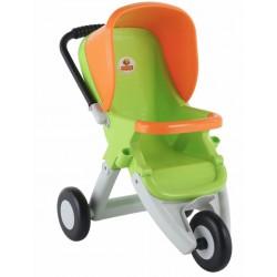 Прогулочная коляска для кукол 3-х колесная Полесье 48127