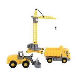 Набор строительной техники Агат Полесье 57150