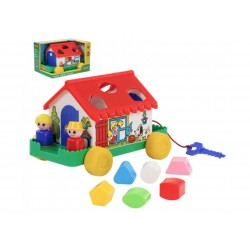 Игровой домик в коробке Полесье 6028 (2 цвета)