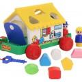 Игровой домик (в сеточке) Полесье 6202