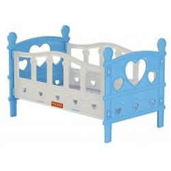 Кроватка сборная для кукол №2, 5 элементов Полесье 62048 в ассортименте