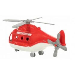 Вертолёт пожарный Альфа (в коробке) Полесье 68651