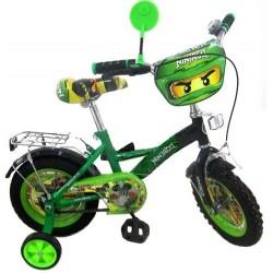 Детский велосипед двухколесный 16 дюймов Ninjago P1634N-N