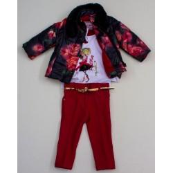 Комплект куртка, гольф, брюки Baby Muz 0416