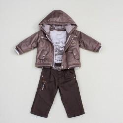 Комплект куртка, гольф, брюки BomBili 3224