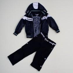 Комплект ветровка, поло, брюки BomBili 3392