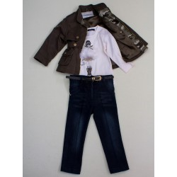 Комплект брюки, гольф, жакет Baby Muz 4106