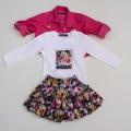 Комплект юбка, гольф, жакет Baby Muz 4162