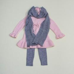 Комплект туника, лосины, шарф Nipper 5850