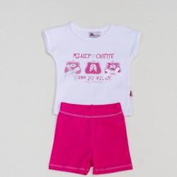 Комплект футболка, шорты 6724  Abentiny