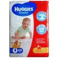 Подгузники Huggies Classic 4 (7-18 кг) 68 шт.