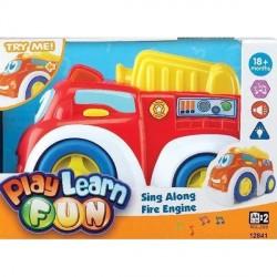 Машинка Keenway Веселая пожарная (12841)