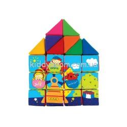 Набор развивающих кубиков Ks Kids (10458)