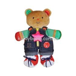 Развивающая игрушка Ks Kids Мишка Учимся одеваться (10462)