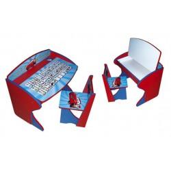 Парта и стульчик с пеналом