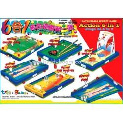 Игровой мининабор 6в1, в коробке (38*27)