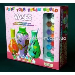Творческий набор  с фарфоровыми вазами