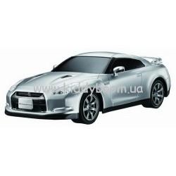 Автомобиль радиоуправляемый 2008 Nissan GT-R (серебристый, 1:28)