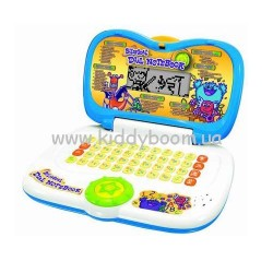 Детский ноутбукBILINGUAL DIAL NOTEBOOK (бело-