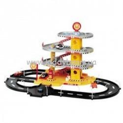 Игровой набор - АВТОГАРАЖ (4 уровня, 2 машинки)