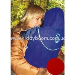 Накидка на рюкзак для малыша,красный