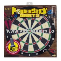"Дартс Power stick dart board 6"" BuzzBeeToys 90703"