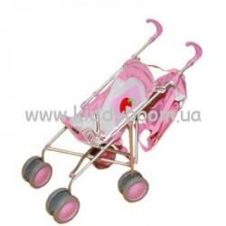 Коляска для куклы с сумкой  128-2 Baofeng