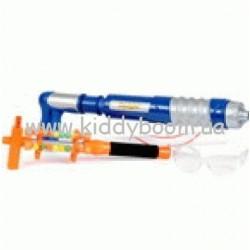 Набор для пейнтбола SUPA SPLAT-SS1300 (бластер, мишень, очки, пу