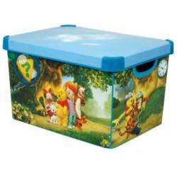 Ящик для игрушек Deco's Winnie (Curver 1127)