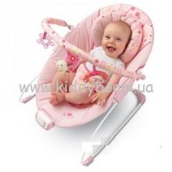"""Музыкальное кресло-качалка (шезлонг) Bright Starts (Kids II) """"Розовые сны"""" 6911"""