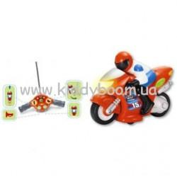 Мотоцикл с водителем на радиоуправлении Keenway  (13505)