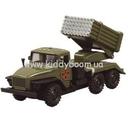Автомодель Урал военный