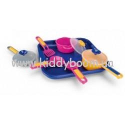 Набор посуды на подносе Wader 25410