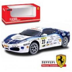 Машинка на радиоуправлении 1:24 Ferrari 23#F430 Challenge Team