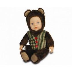 Кукла-медвежонок в жилетке