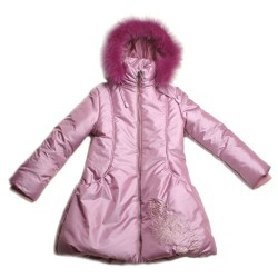 Пальто с мехом O'hara H-67 р.110-116