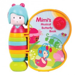 Интерактивная музыкальная игрушка-книжка - Поющая бабочка Мими