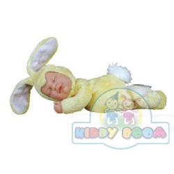 Детки кролики ванильные 23 см спящие