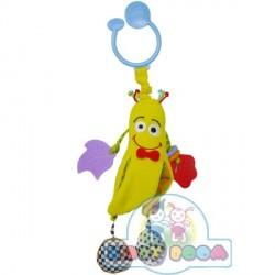 Активная игрушка-подвеска Веселый мистер-банан BIBA TOYS 001GD
